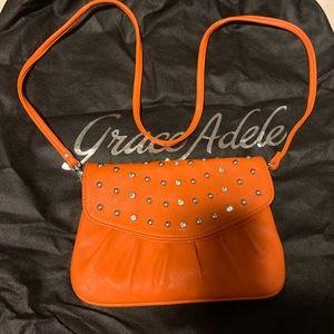 Grace Adele Clutch with cross body strap